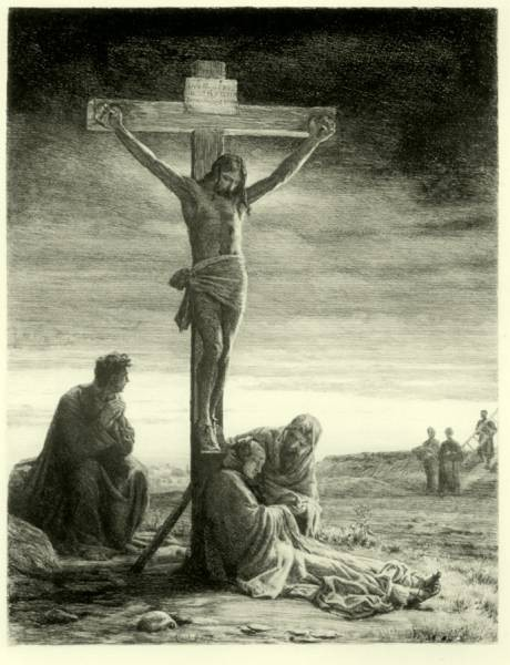 Carl Heinrich Bloch Crucifixion of Christ